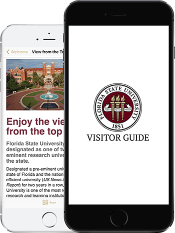 Florida State University Map.Welcome To Florida State University Fsu Online Visitor S Guide